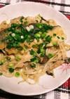 鱈とモヤシの味噌マヨ炒め!