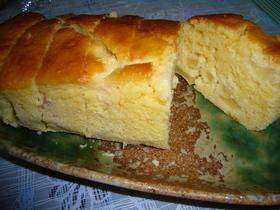HMで簡単!りんごのパウンドケーキ☆