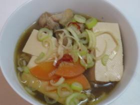 ナンチャッテ「かしわ豆腐」^^;