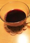 カシス風味のホットワイン