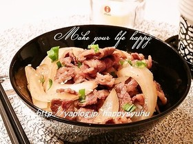 ピリッと生姜風味☆牛丼