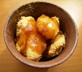 ◆ みるく餅のきな粉くろみつがけ ◆