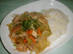 ポーク・チャプスイ(chop suey)