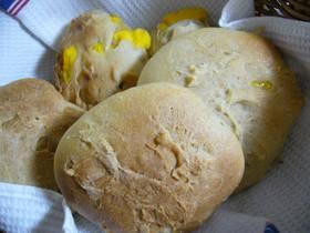 りんご酵母でクリームパン(中種法)