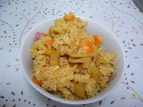 筍の煮物リメイク☆筍ご飯