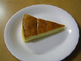 簡単ヘルシー♪ミキサーで豆腐チーズケーキ