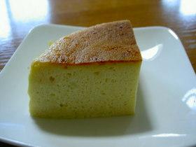 超しっとりお豆腐を使ったチーズケーキ!