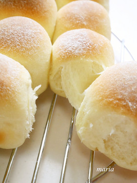 ふんわ~り*豆乳ちぎりパン
