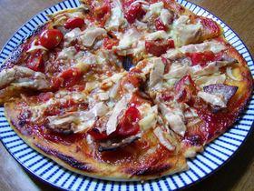 忙しい時に発酵なしのお手軽ピザ