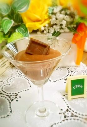 これお豆腐?濃厚チョコプリン(砂糖不使用