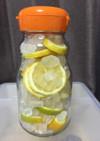 皮ごとレモンシロップ(レモンの砂糖漬け)