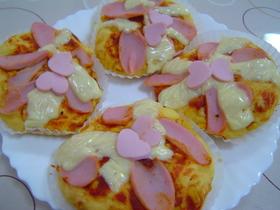 ホットケーキミックスでビックリピザ☆