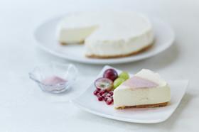 ざくろ\u0026ドラゴンフルーツレアチーズケーキ