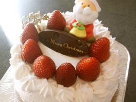 手作り★いちごのクリスマスケーキ☆