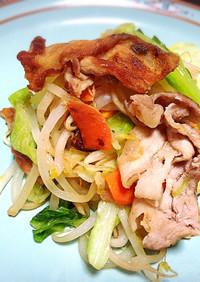 塩糀で絶品肉野菜炒め