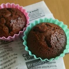 簡単☆チョコカップケーキ♡