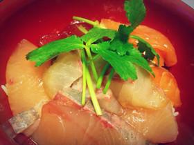 簡単絶品!海鮮漬け丼のタレ