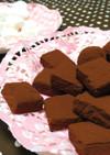 【バレンタイン】簡単!2色の生チョコ♪