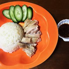 超簡易シンガポーリアン料理 ☆海南雞飯☆