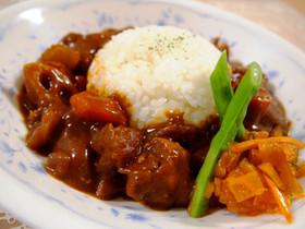 根菜たっぷり☆味噌で和風ポークカレー