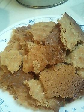 鉄板1枚Deカリカリチューイーなクッキー