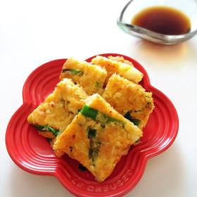 お豆腐チヂミ