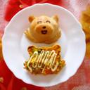かぼちゃサラダONトースト