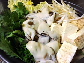基本の牡蠣鍋