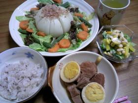 新玉ねぎの彩りスープ煮