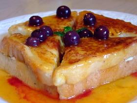 リッチ!クリームチーズのフレンチトースト