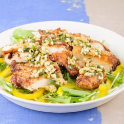 鶏むね肉のユーリンチー風から揚げ