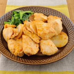 鶏むね肉のピリ辛マヨ焼き
