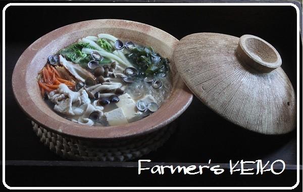 【農家のレシピ】しじみ鍋