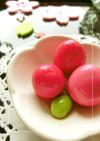 鮮やかピンクいろ❀ うずら卵のすし酢漬け