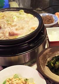 胡麻豆乳鍋アレンジ♡山椒香る薬膳鍋スープ