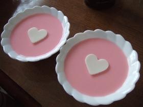 シンプル素材ミルクプリン
