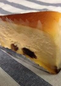 21cmレーズン入りチーズスフレケーキ