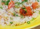 焼鮭のポン酢生姜混ぜごはん