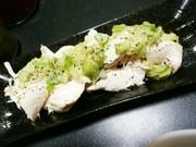 簡単☆ダイエット茹でササミのネギ塩がけの写真