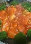 クラシコトマト&バジルで‼鶏肉トマト煮