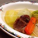 極上スープの牛肉ポトフ☆彡