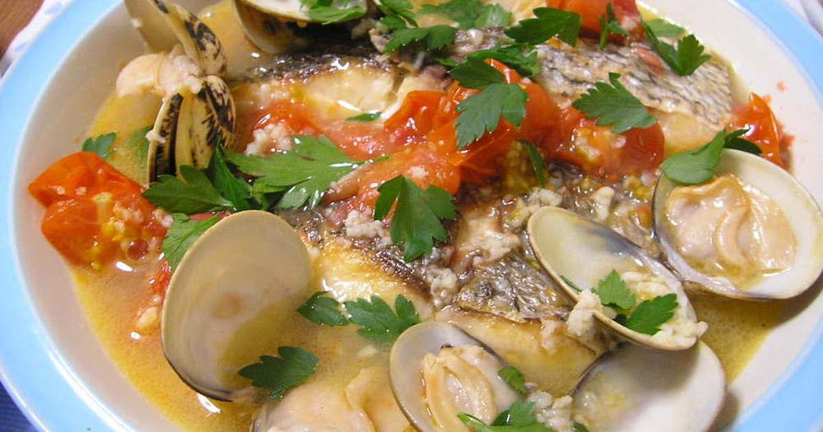切り身魚で簡単アクアパッツア♪ by nimorecipe 【クックパッド】 簡単おいしいみんなのレシピが304万品