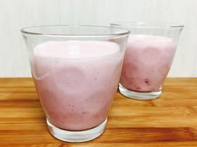 低糖質☆ピンクスムージー