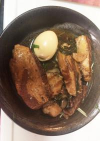 わが家の豚の角煮