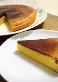 クリームチーズなしさつまいもチーズケーキ