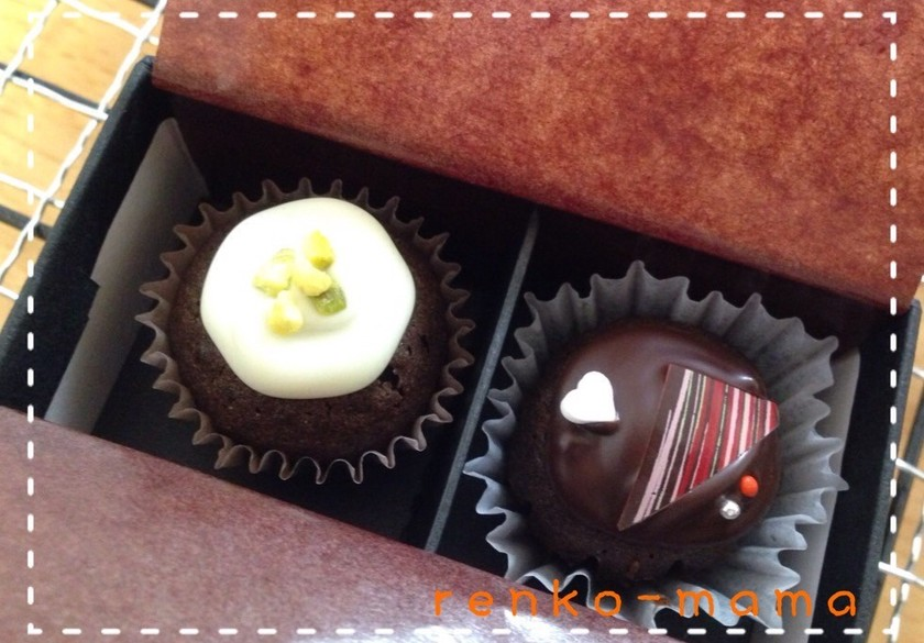 バレンタインに♡ミニミニ♡カップケーキ