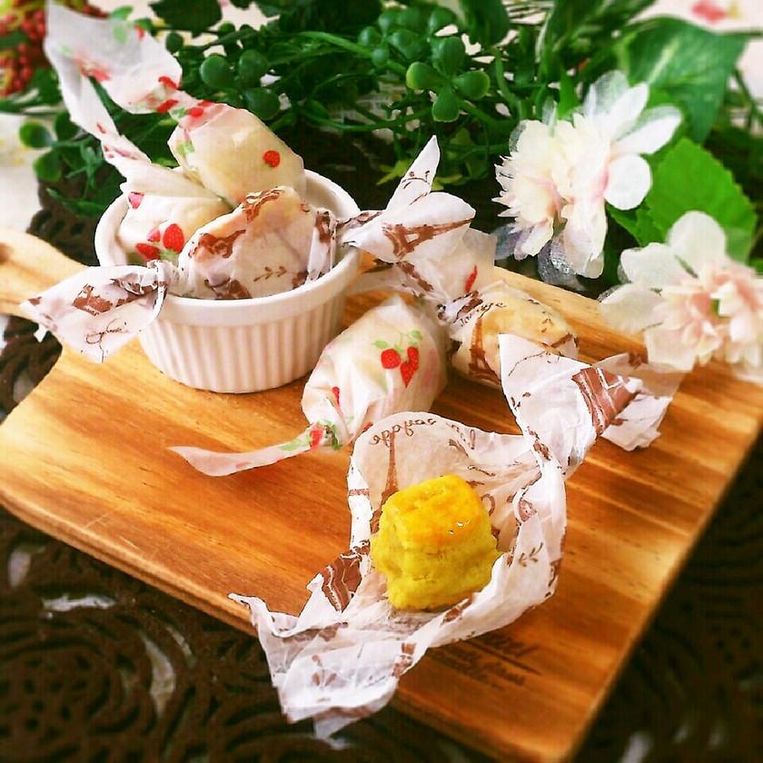 製氷皿で可愛い♡キャンディスイートポテト