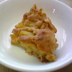 型いらず☆りんご天板ケーキ