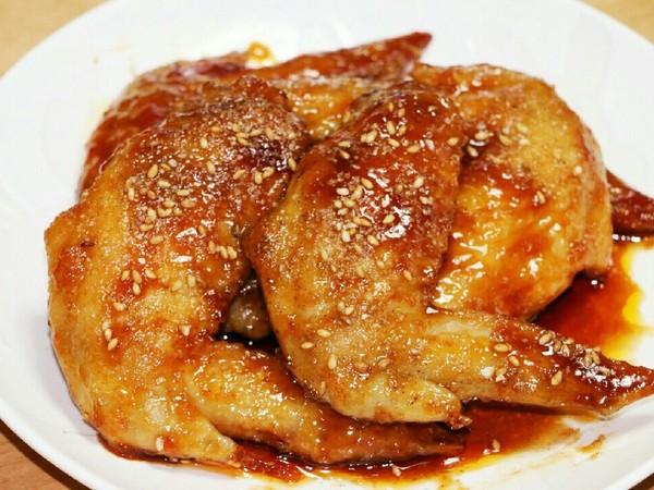 フライパンで10分!簡単手羽先の甘辛煮♡