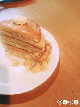 ふわふわ!とろとろパンケーキ♪